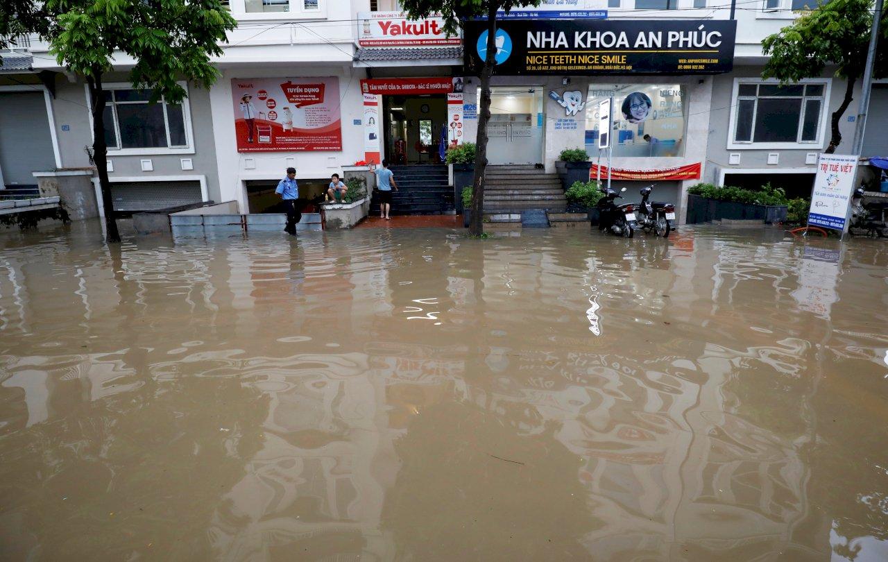 颱風薇帕環流暴雨釀災 越南5死13失蹤
