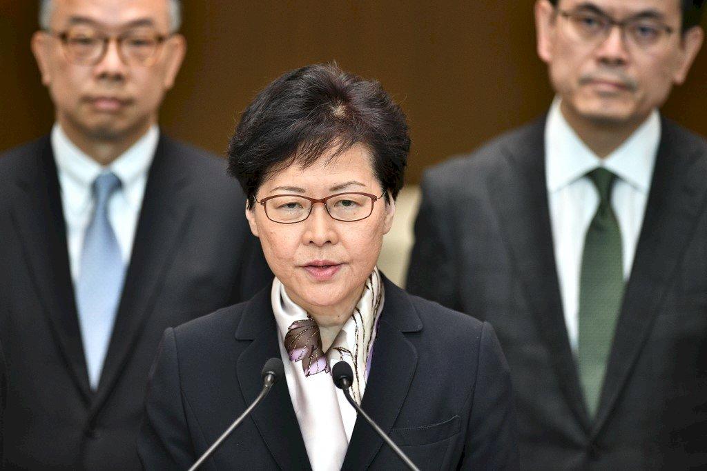 香港民調特首僅得32.9分 1/4受訪者給零分