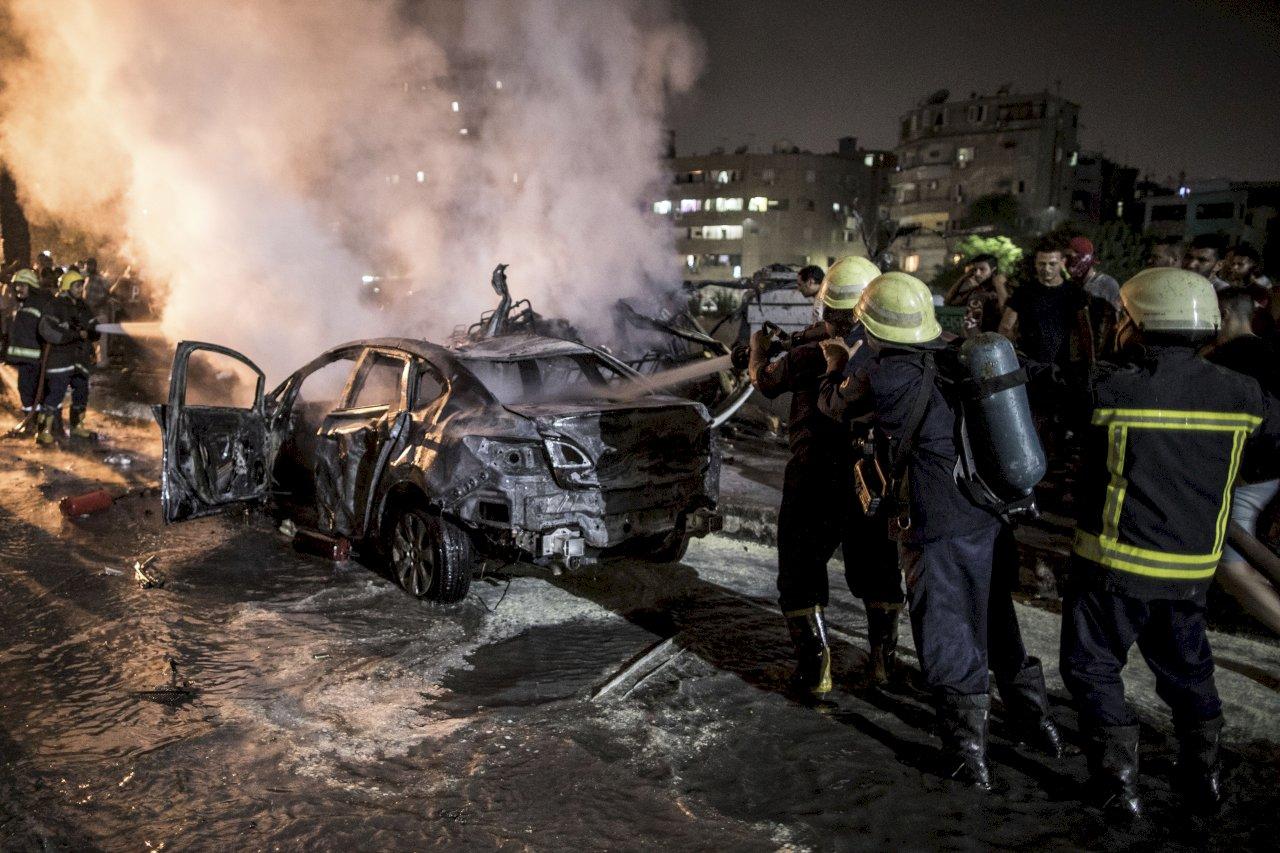 埃及開羅車禍引發爆炸 釀19死30傷