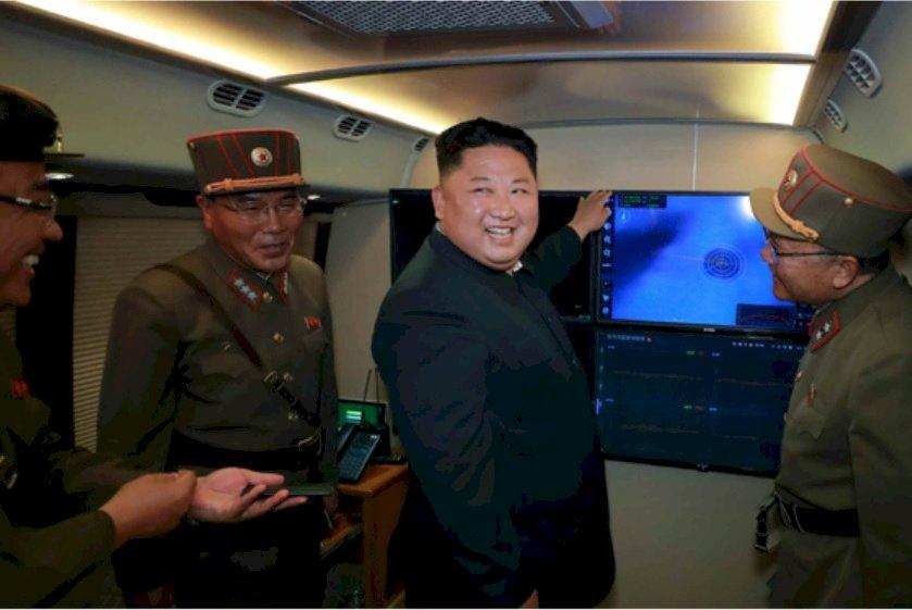 金正恩再次監導試射 美國特使下週訪日韓