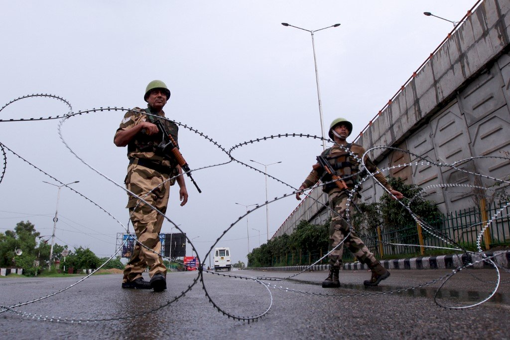 喀什米爾爭議 美國支持印巴對話
