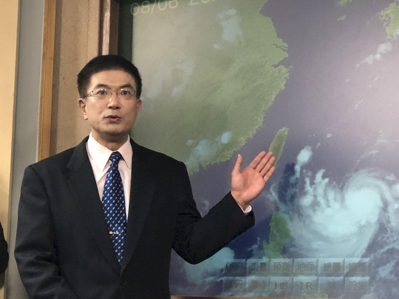 中颱利奇馬進逼 氣象局估今天下午發海警