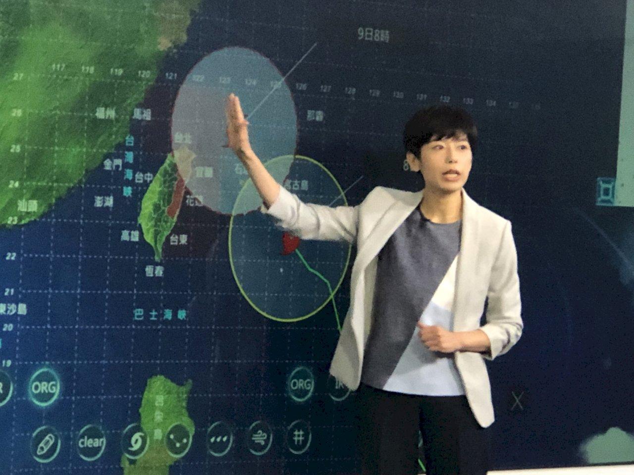 利奇馬轉強颱 陸警8:30發布 北台灣警戒