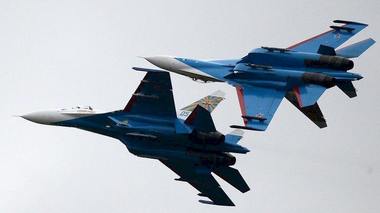 俄戰機趕走NATO戰機
