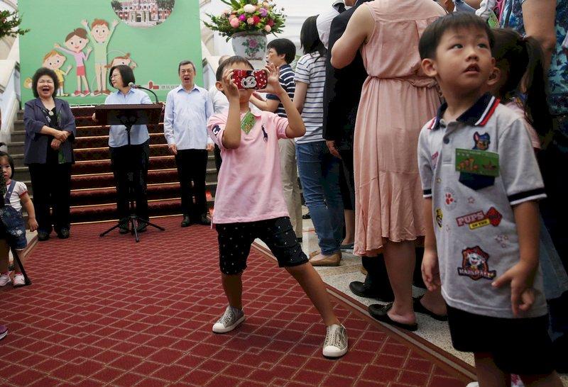出席總統府家庭日 蔡總統:要讓小朋友快樂安全成長