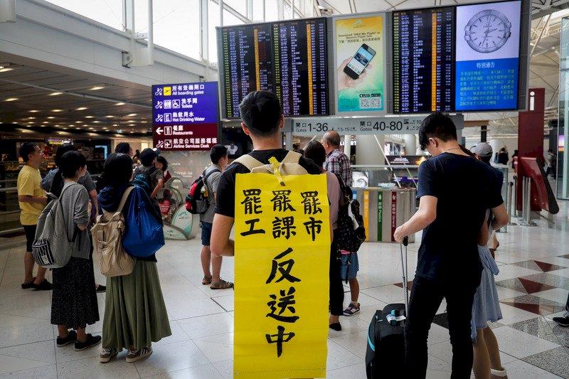 港官員:8月旅客人次跌近四成 飯店入住率跌逾半