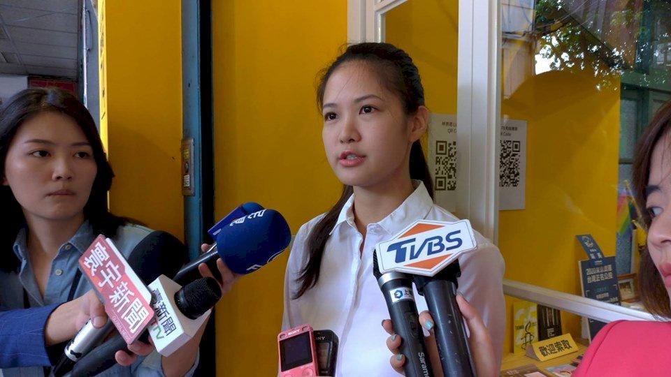 不願時力戰友再流失 市議員林亮君宣布角逐黨主席