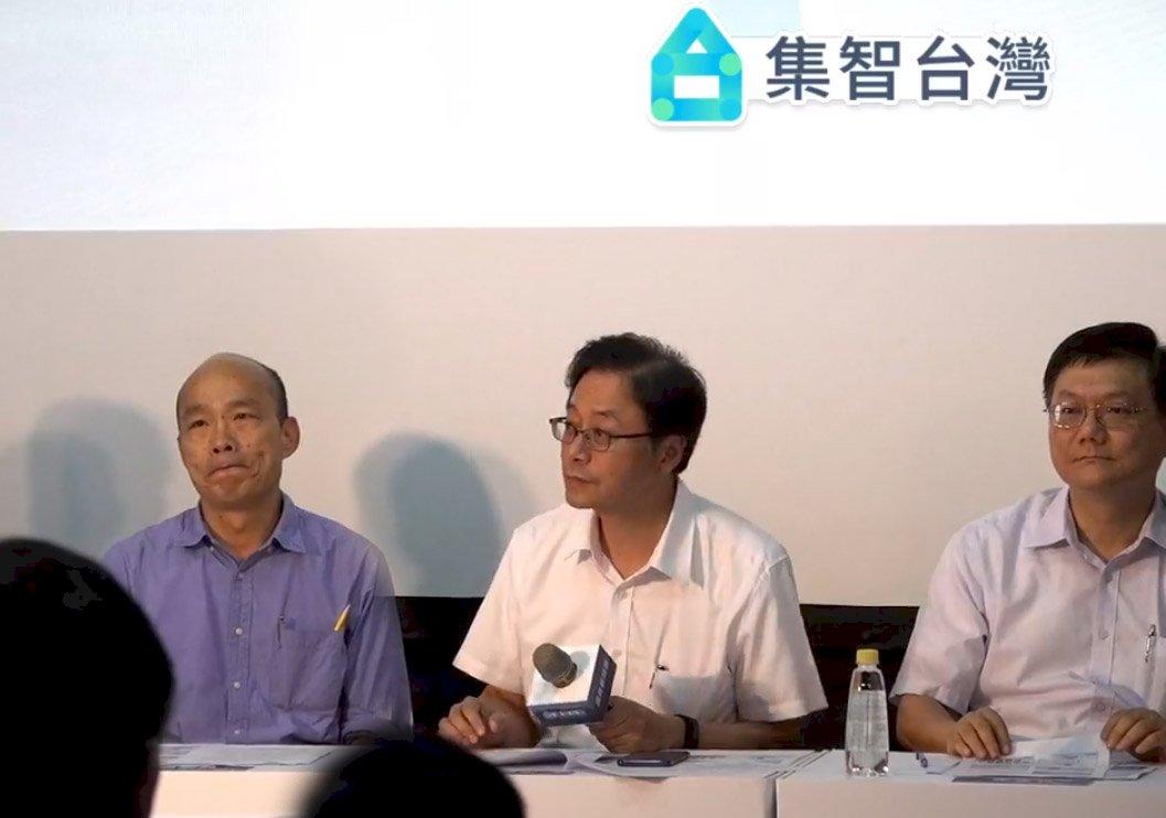 韓國瑜國政顧問團名單公布 多位前政務官跨刀