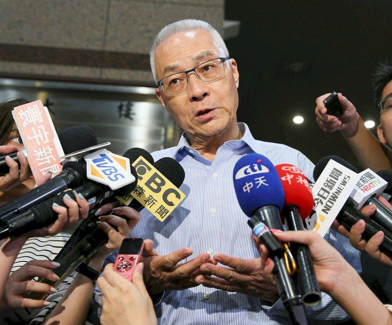 郭柯王同台 吳敦義:未提選舉 很有智慧