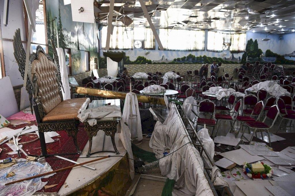 喀布爾自殺攻擊增至80死 一年多來最致命攻擊