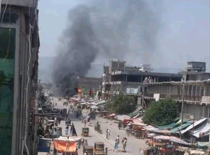 阿富汗東部大城連14爆 增至123傷