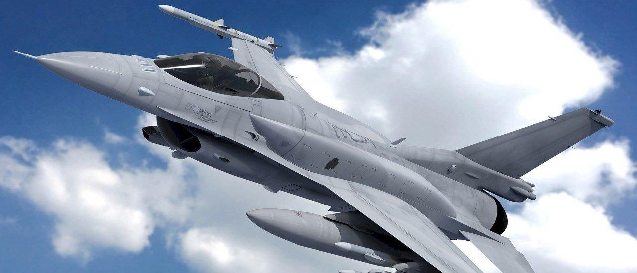 對美採購66架F-16V戰機 預估2023年首批交貨