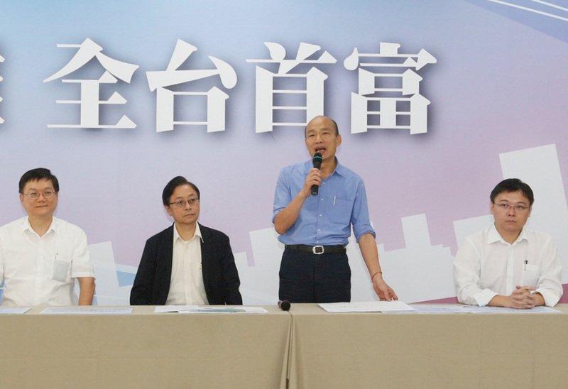 韓國瑜能源政策 藍委贊同 綠委批韓成「核電推銷員」