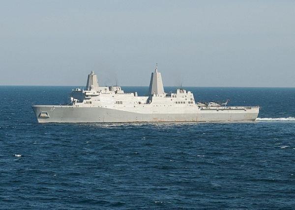 美軍艦通過台海 國防部:全程監偵無異狀