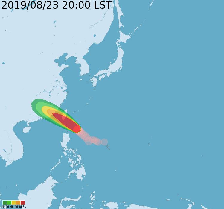 白鹿颱風逼近 南高屏台東停班停課