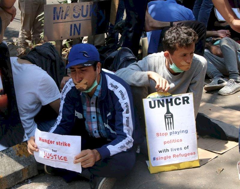 滯留印尼國際難民 向澳洲等安置國使館求援