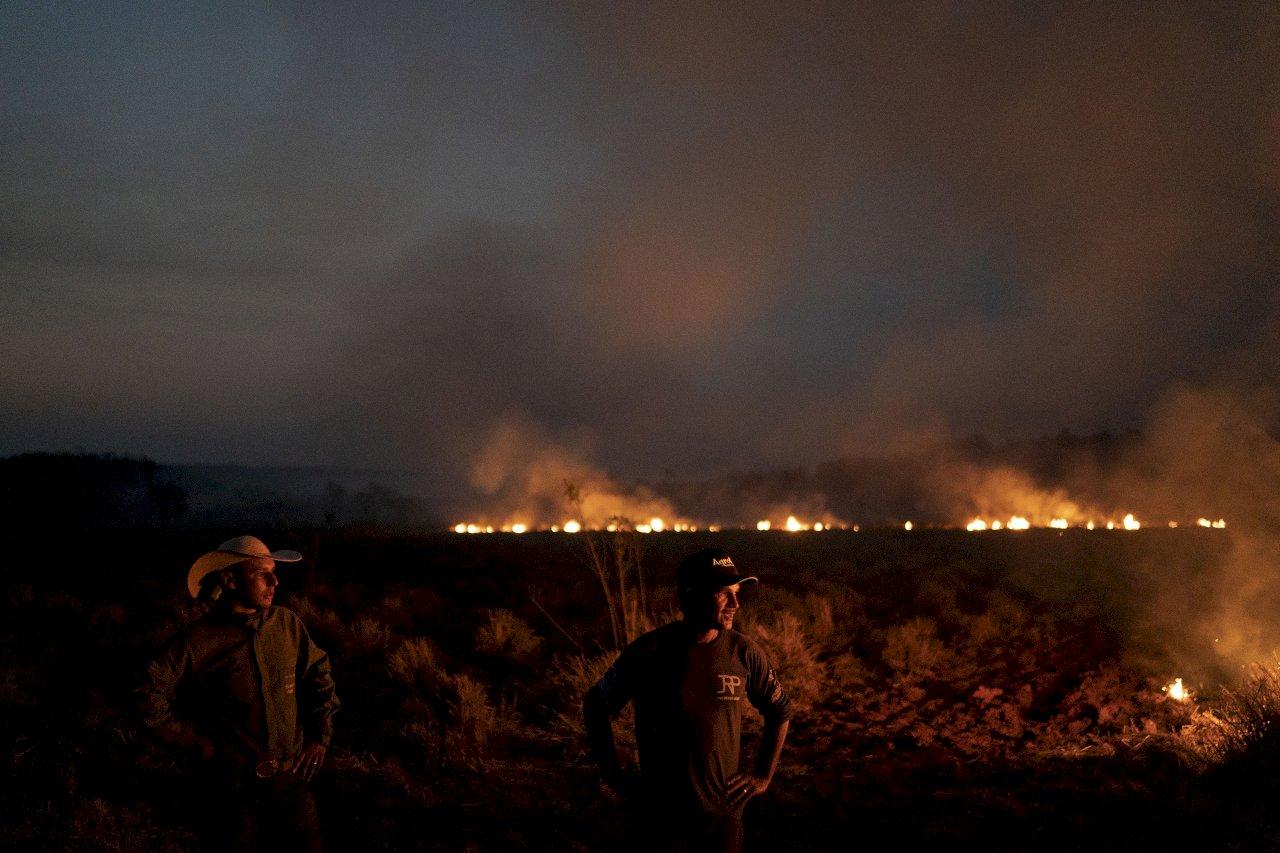 亞馬遜雨林新火不斷 野火也肆虐非洲