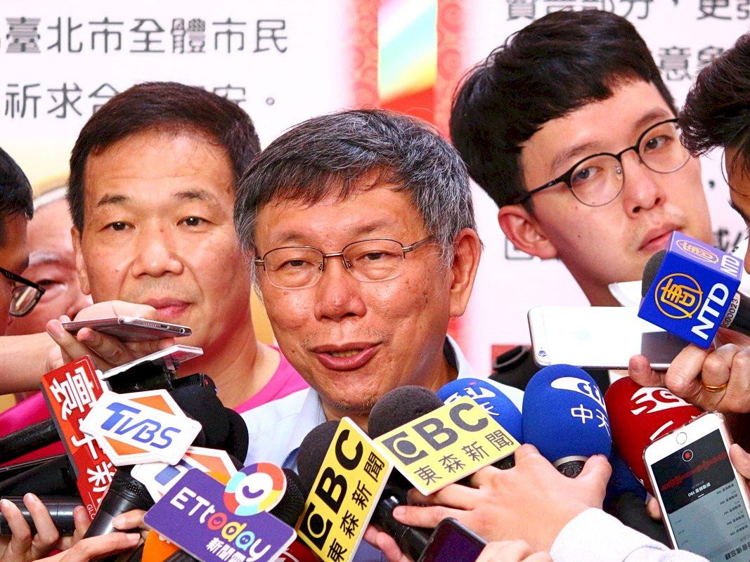 王金平參選到底 柯文哲:各退一步才能成大局