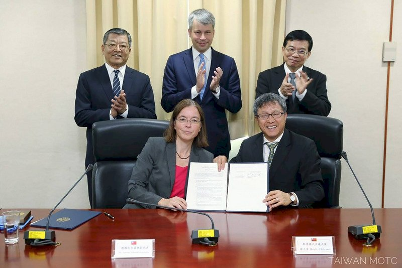 台德簽署「自動駕駛技術合作」共同宣言