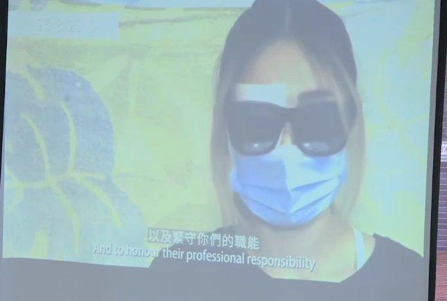 爆眼女子擬申請禁制令 阻港警取得醫療報告