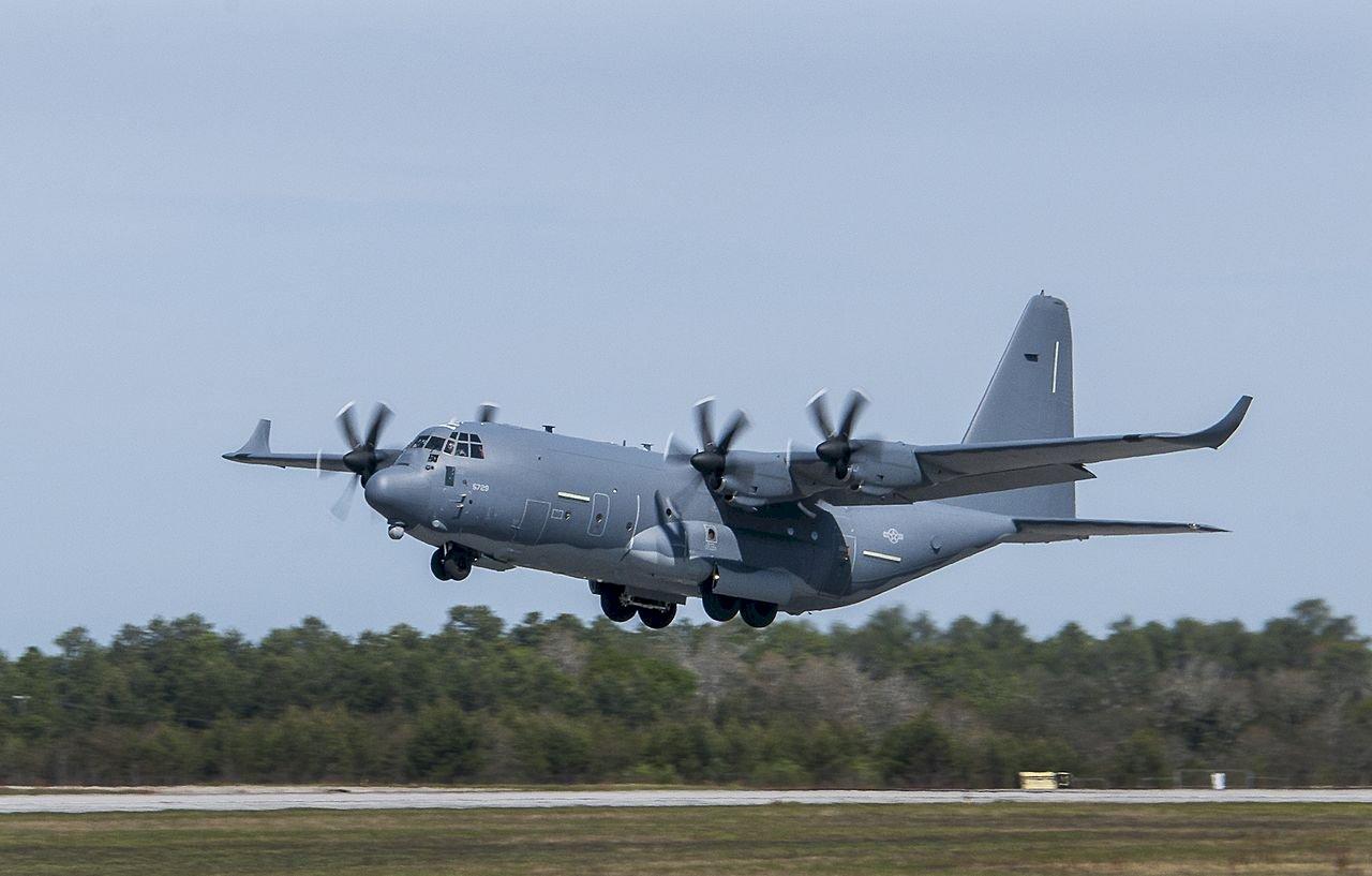國防部證實 美軍MC-130J特戰運輸機經台海中線