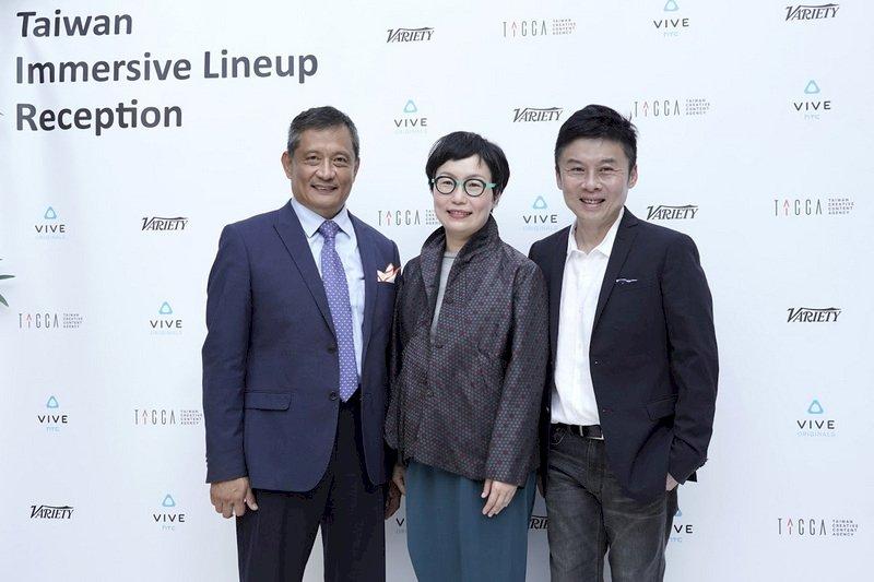 丁曉菁赴威尼斯影展 力挺台灣VR軟實力
