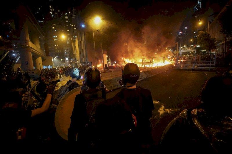 香港831反送中示威 1名日本男子被捕