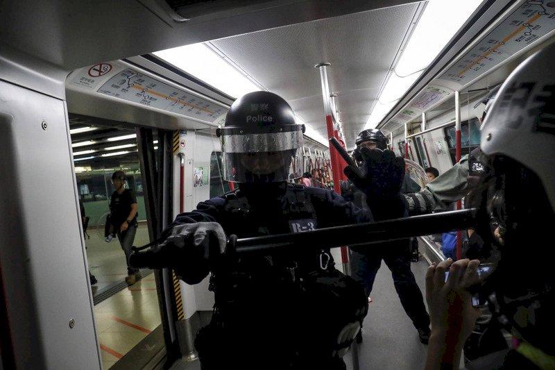 警察太子站暴力執法爭議 港鐵允諾影片保留3年