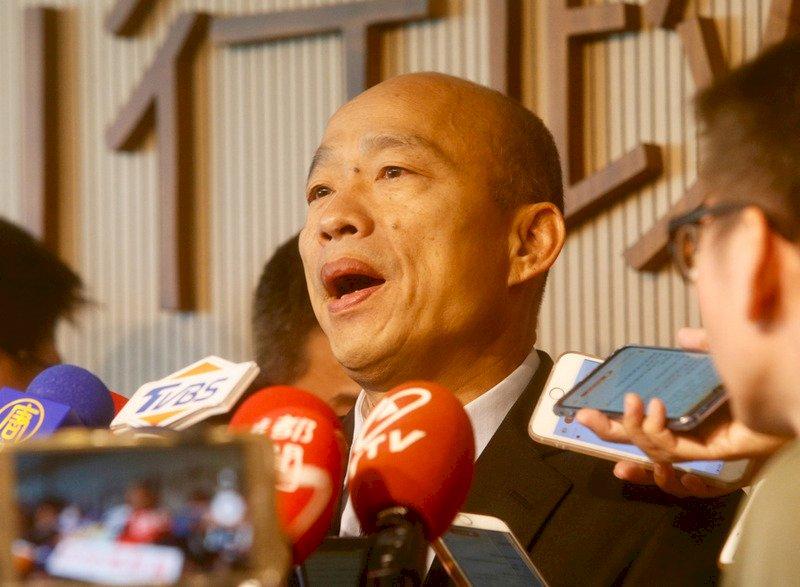聲援管中閔被申誡 韓國瑜:多數民眾無法接受如此羞辱
