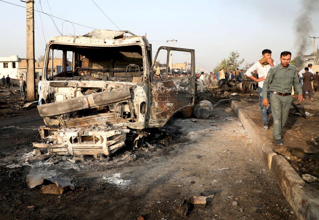 美宣布與塔利班達協議之際 喀布爾爆炸16死119傷