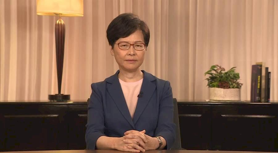 林鄭撤例 中國官方及媒體保持靜默低調
