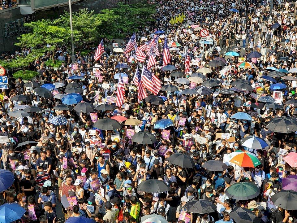 美國會推香港人權法 強化對中港施壓空間
