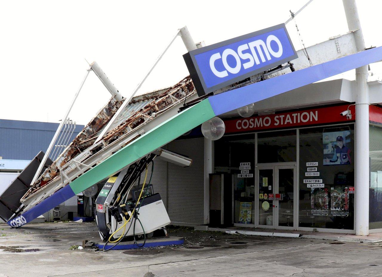 颱風法西襲日本關東 1死36傷