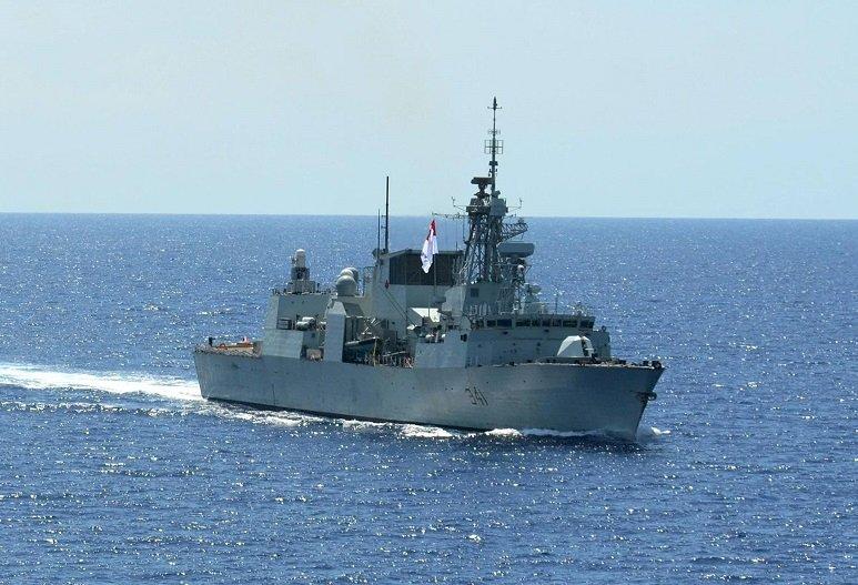渥太華號軍艦穿越台海 加國駐台機構:與以往做法一致