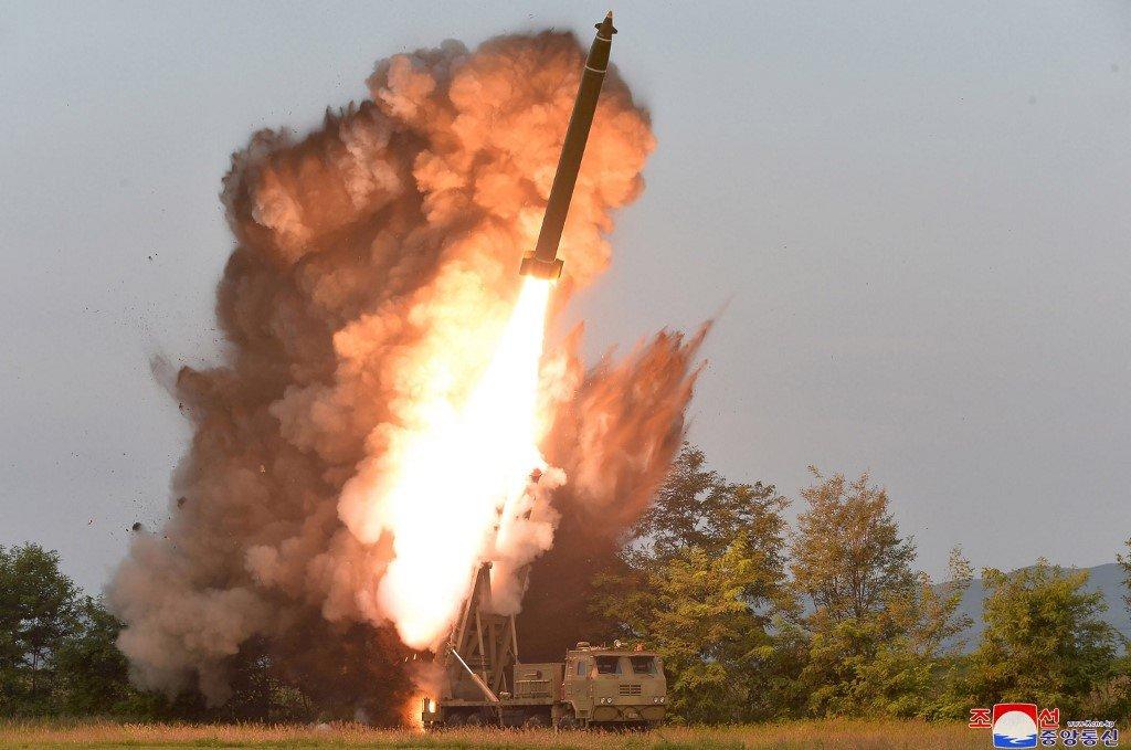北韓再度發射不明物體 落在日本專屬經濟區