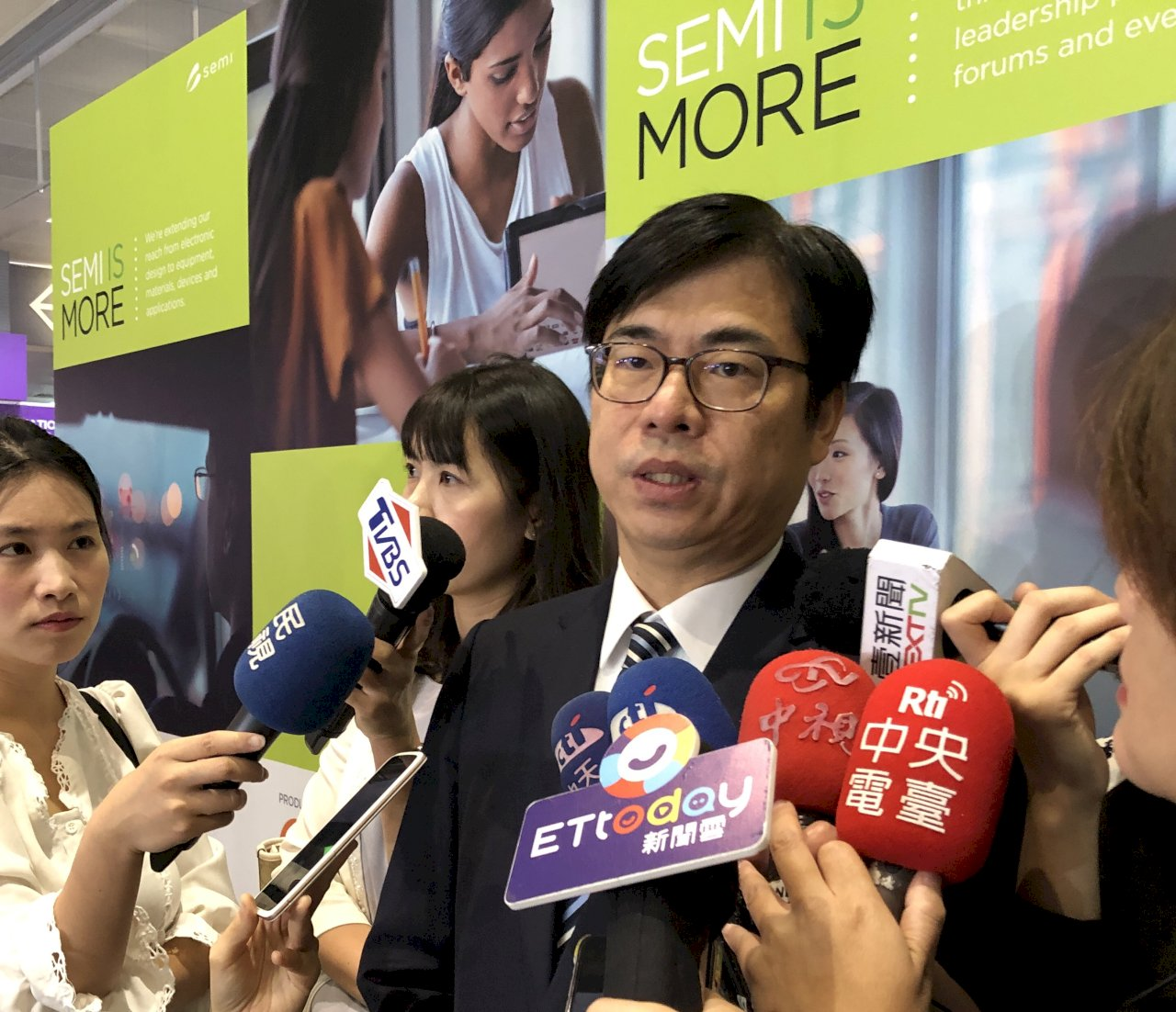 呂秀蓮參選總統 陳其邁:蔡總統會獲多數人肯定