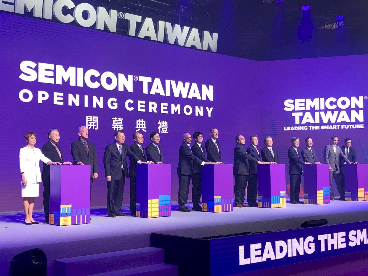 國際半導體展開幕 陳其邁:提升台灣價值鏈地位