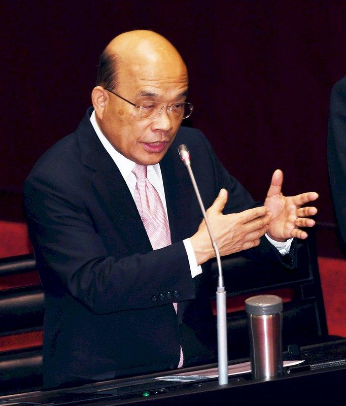 蘇貞昌:吉里巴斯做法 非民主國家常態