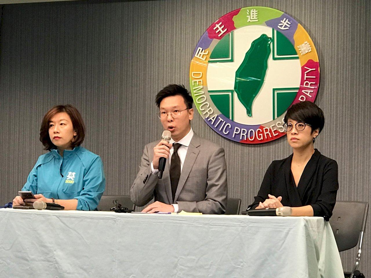 民進黨重批中國以金錢掠奪我邦交 施壓台灣人民