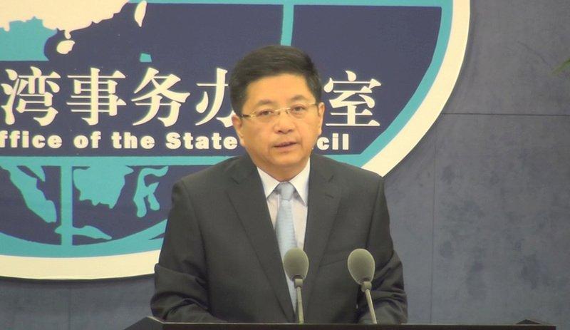 國台辦:蔡金樹涉危害中國國家安全 遭依法審查