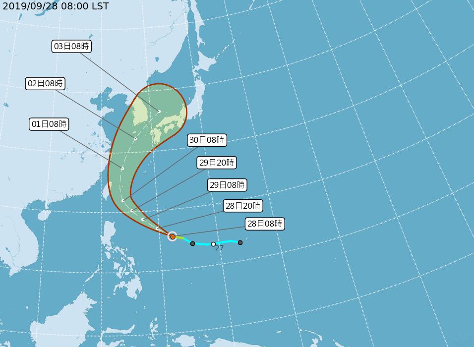 第18號颱風米塔形成 下週影響北台灣