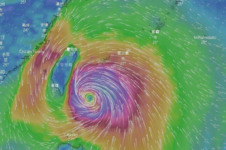 米塔颱風逼近 總統關切防颱準備