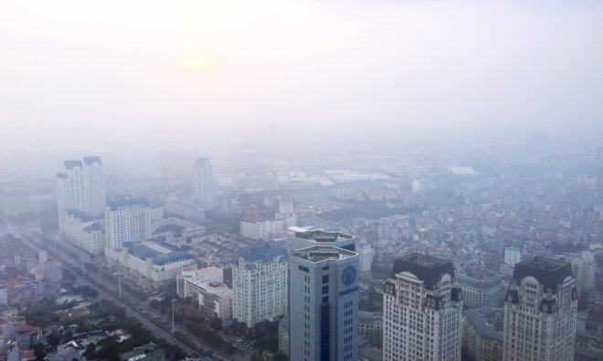 空氣品質持續不良 越南籲民眾減少戶外活動
