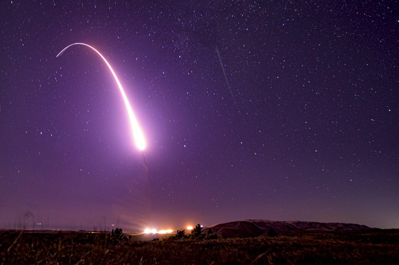 美軍:成功試射無武裝義勇兵三型飛彈