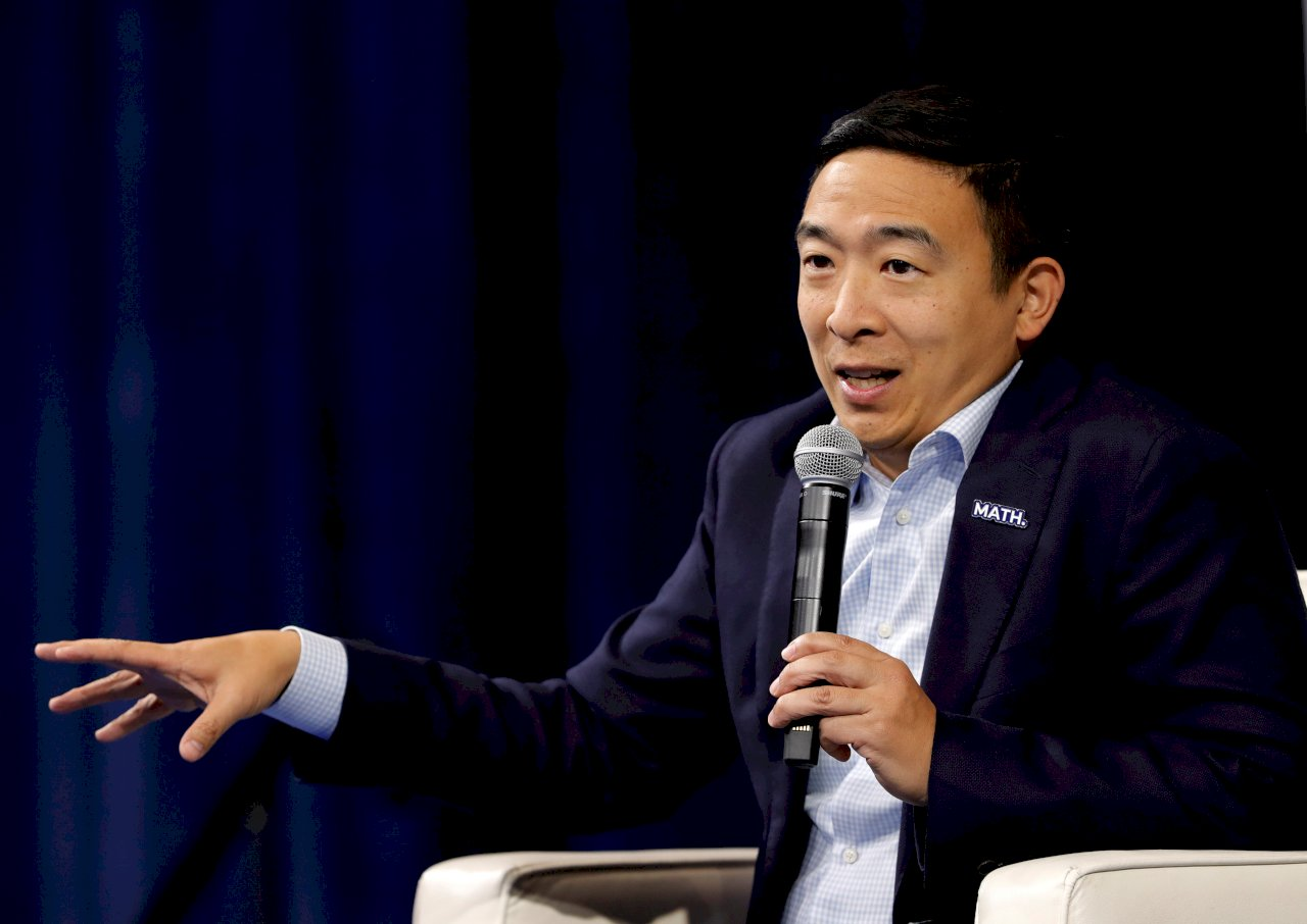 楊安澤宣布 退出民主黨總統提名競爭