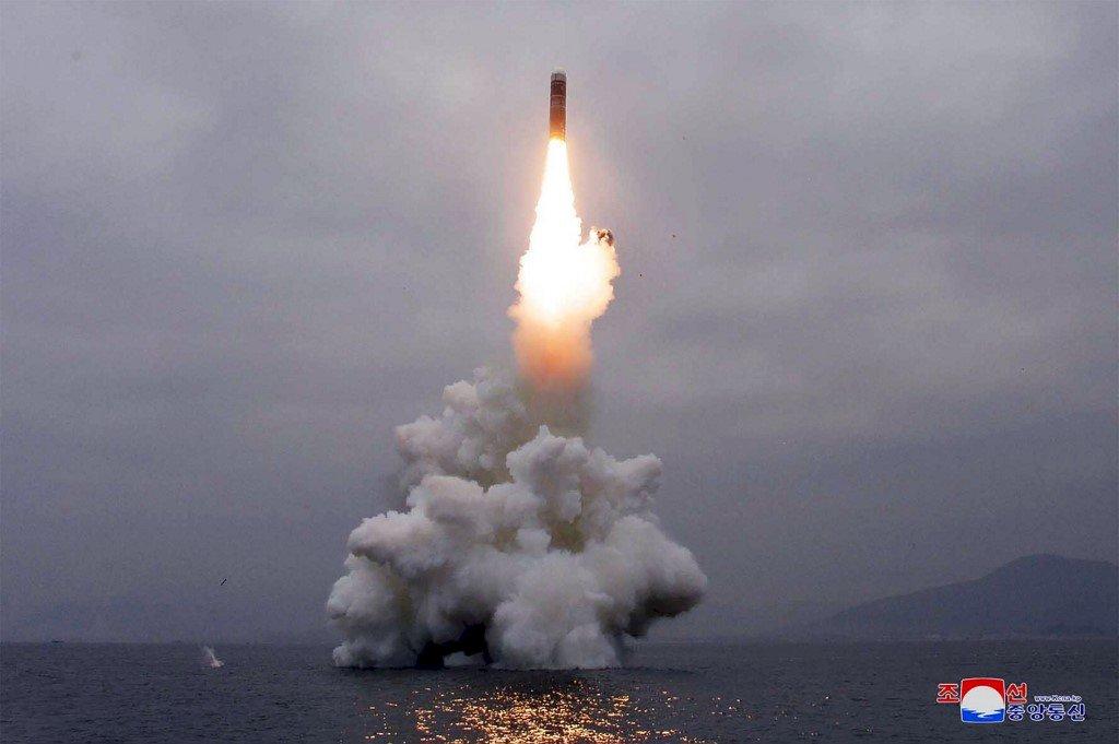 試射北極星3號飛彈 北韓黨報:向世界嚴正聲明