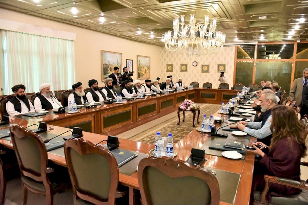 塔利班造訪巴基斯坦 巴國官員熱情迎接