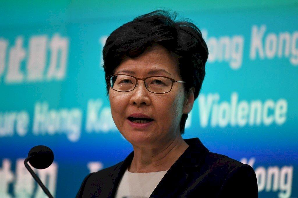 民調:林鄭月娥支持率只有18% 反對率72%