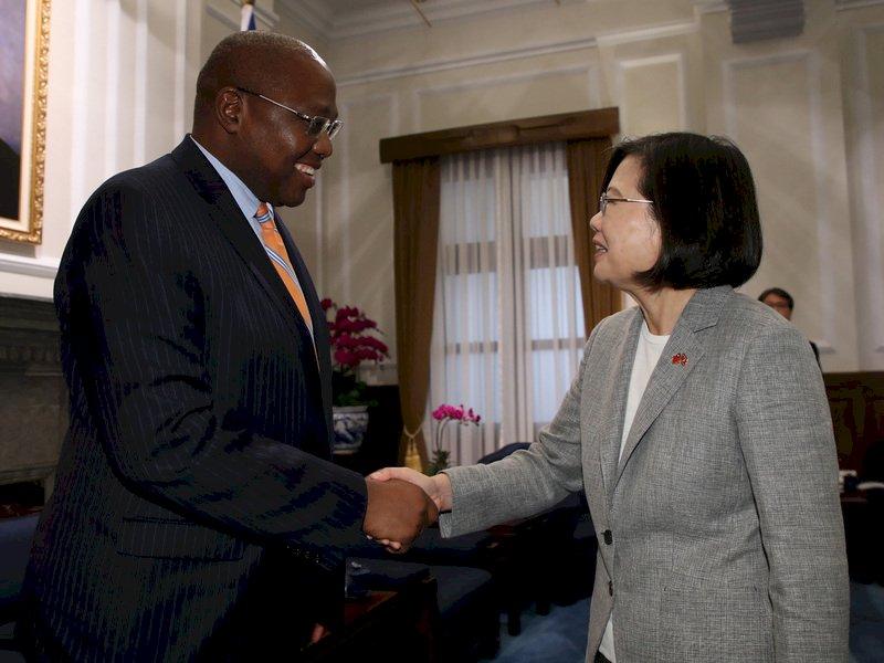史瓦帝尼總理戴安伯過世 蔡總統哀悼致意