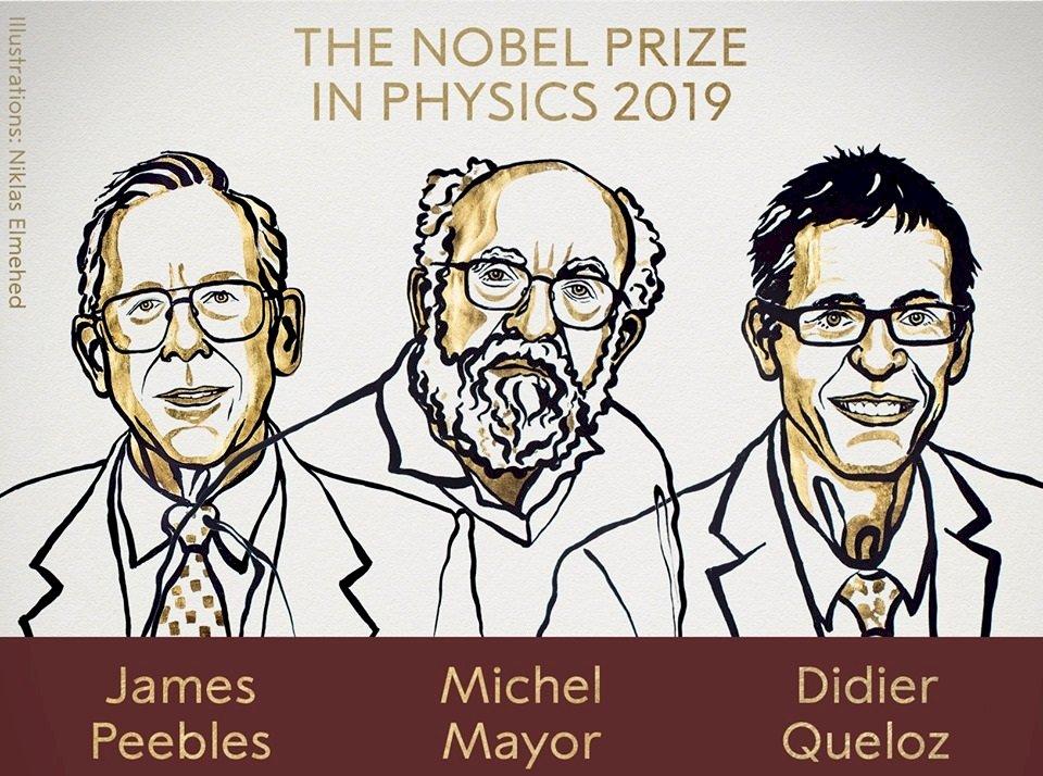 諾貝爾物理學獎:加拿大瑞士3科學家共享榮耀